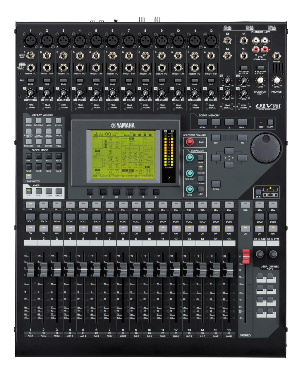 yamaha 01v96i digital mixing console sound equipment for stage and rh pnta com
