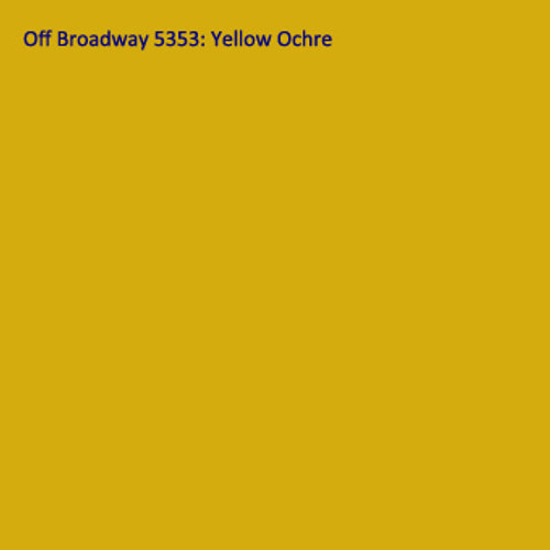 Rosco 5353 Off Broadway Paint Yellow Ochre Quart