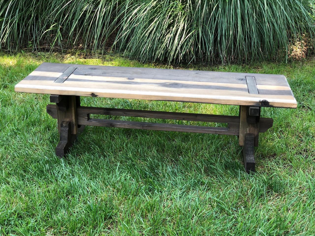 Exceptionnel Rustic Garden Bench
