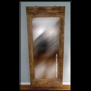 Artisan Industrial Rustic Standing Mirror
