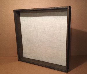 "Shadow Box - Artisan Rustic -35.5"" W x 35.5"" H x 4"" D"