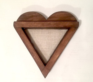 Heart-Shaped Shadow Box | Artisan Rustic Collection