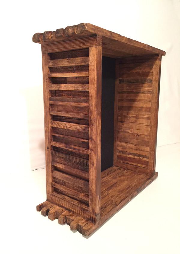 "Shadow Box - The Artisan Grand Barnyard - 16 W x 20"" H x 8"" D   Butterscotch"