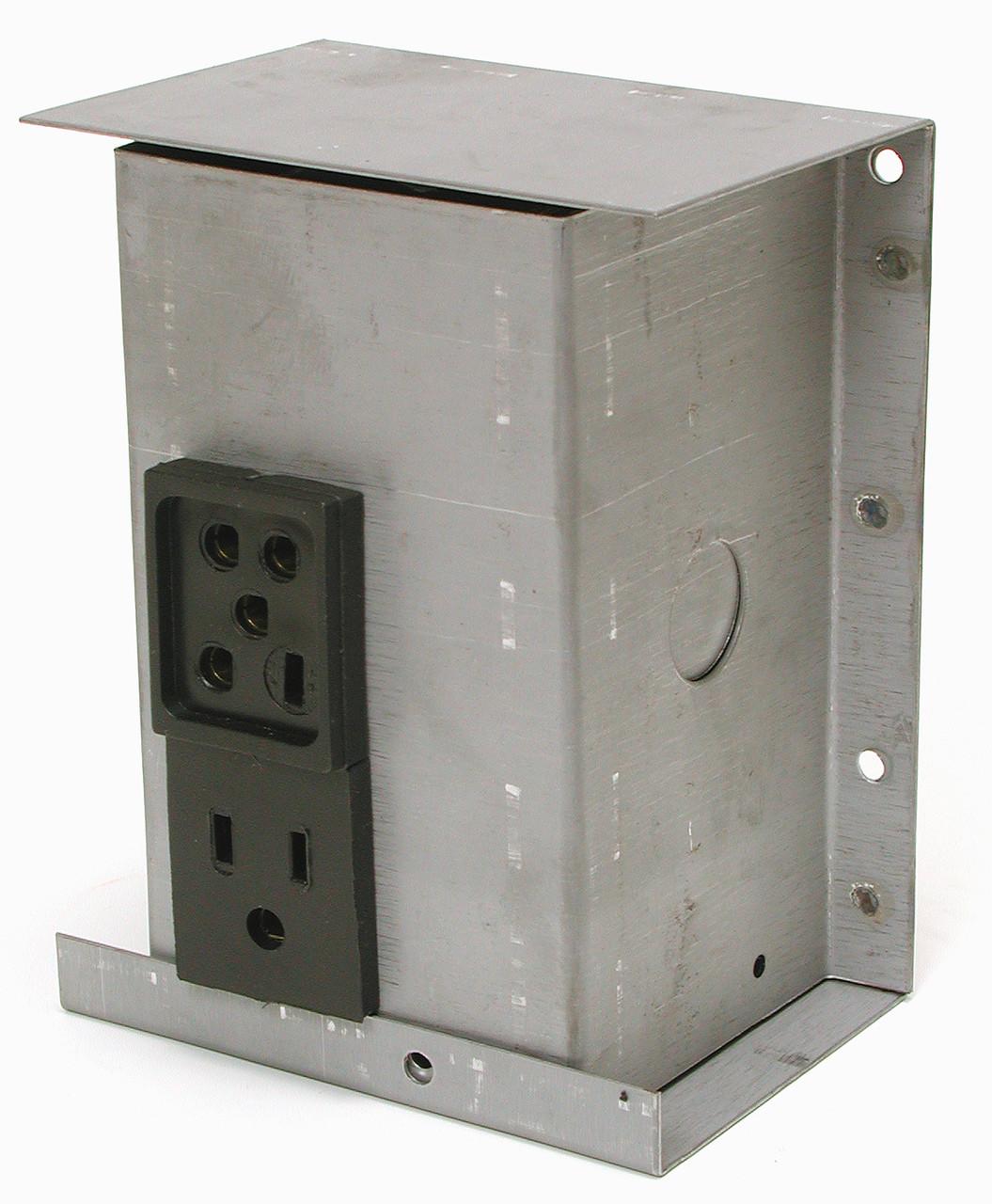 115V Swamp Cooler Electrical Plug Junction Box 7705 - Indoor Comfort ...