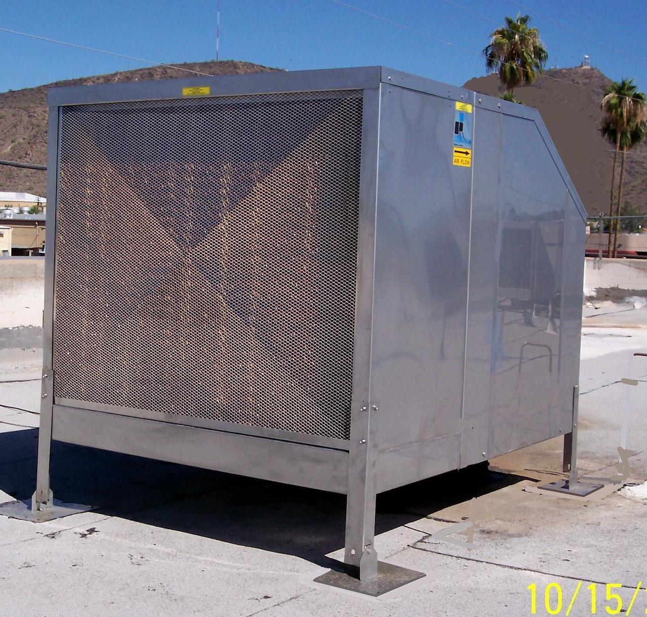 Stainless Steel Evaporative Cooler 6000 Cfm Premiercool