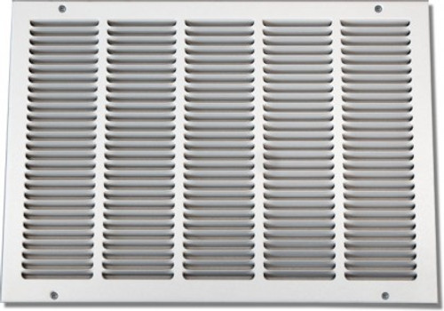 10 X 10 Air Return Grille Stamped Face - NO Filter Frame PSRGW1010