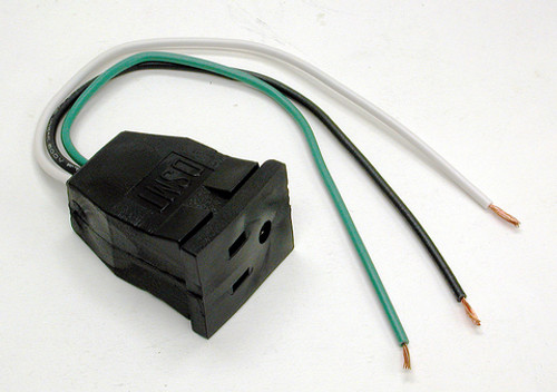 115V Pump Receptacle Pigtail 7587