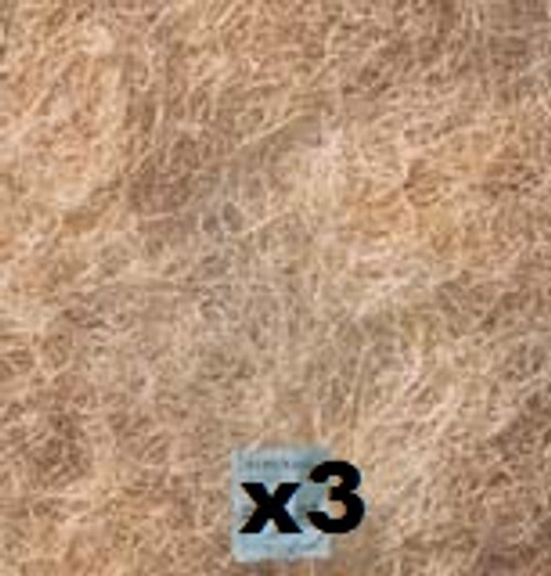 """3 Pack Evaporative Cooler Pads, Extra Thick Aspen 22""""X50""""FP22503PK"""