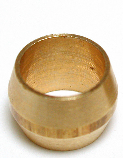 """1/4"""" Brass Compression Sleeve  (5 PACK) 93055"""
