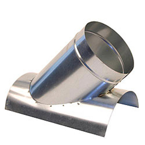 "6"" 45 Degree Saddle Tap Branch - HVAC Ductwork Sheet Metal SHMST428U"