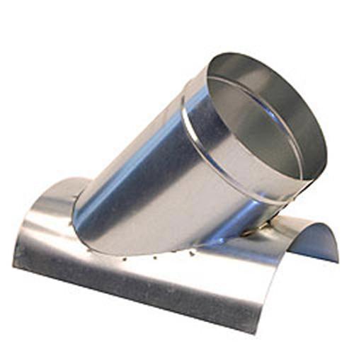 "10"" 45 Degree Saddle Tap Branch - HVAC Ductwork Sheet Metal SHMST42610"