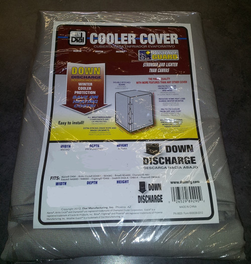 34 X 34 X 36  Swamp Cooler Cover Downdraft Polyester