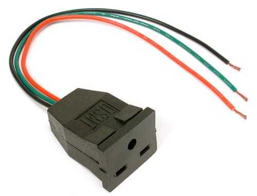 230V Pump Receptacle Pigtail 7590