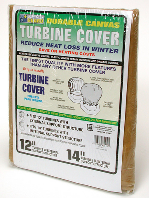 """14"""" Roof Turbine Cover Canvas 8551"""