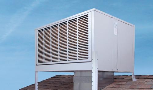 "Aerocool Trophy Downdraft 8"" Pad Evaporative Cooler 6800 CFM (2000 Sq. Ft)"
