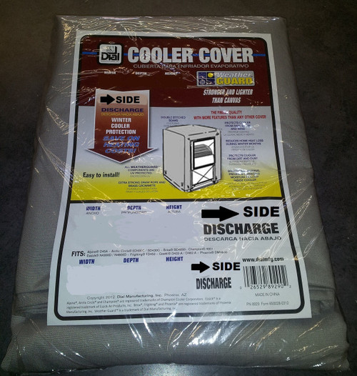 29X29X36 Swamp Cooler Cover Sidedraft Polyester