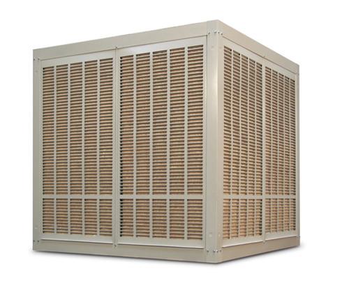 10,000 CFM Downdraft Industrial Evaporative Cooler - Aspen Pads