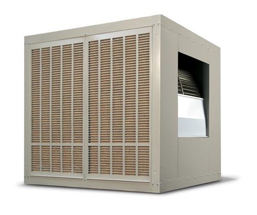 20,000 CFM Sidedraft Industrial Evaporative Cooler - Aspen Pads