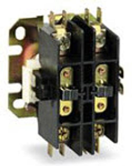 Contactor 2 Pole 24 Volt 40 Amp HVAC MAR91421