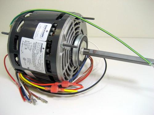 Air Conditioning Blower Motor 1/6 - 1/2 Horse Power 1075 RPM 230 Volt EME5461