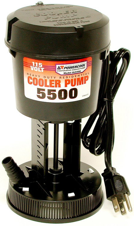 5500 Cfm Cooler Pump 115 Volt Residential Indoor Comfort