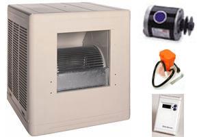 Evaporative Cooler Complete System Bundle   4500 CFM Sidedraft Aspen   FREE  SHIPPING