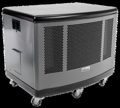 Mobile Aerocool Evaporative Cooler Silver Finish Mac5100