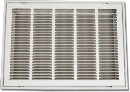 25 X 14 Air Return Filter Frame Stamped Face White PSFGW2514 ...