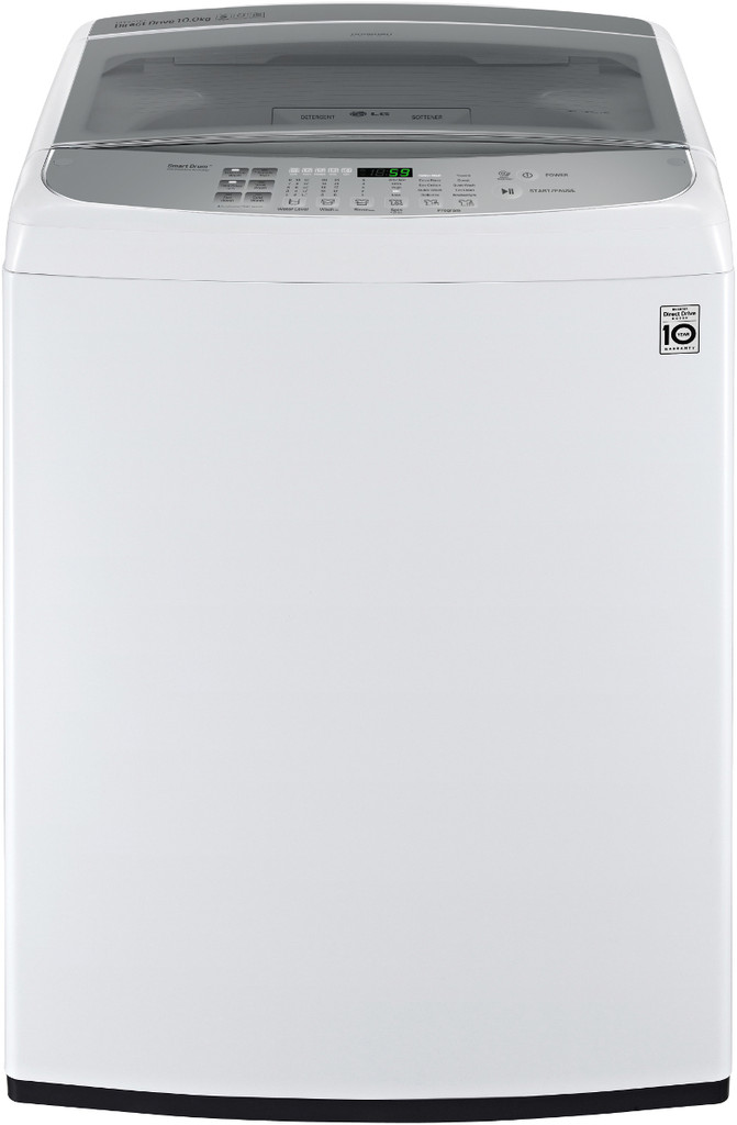 10kg Top Load Washer White