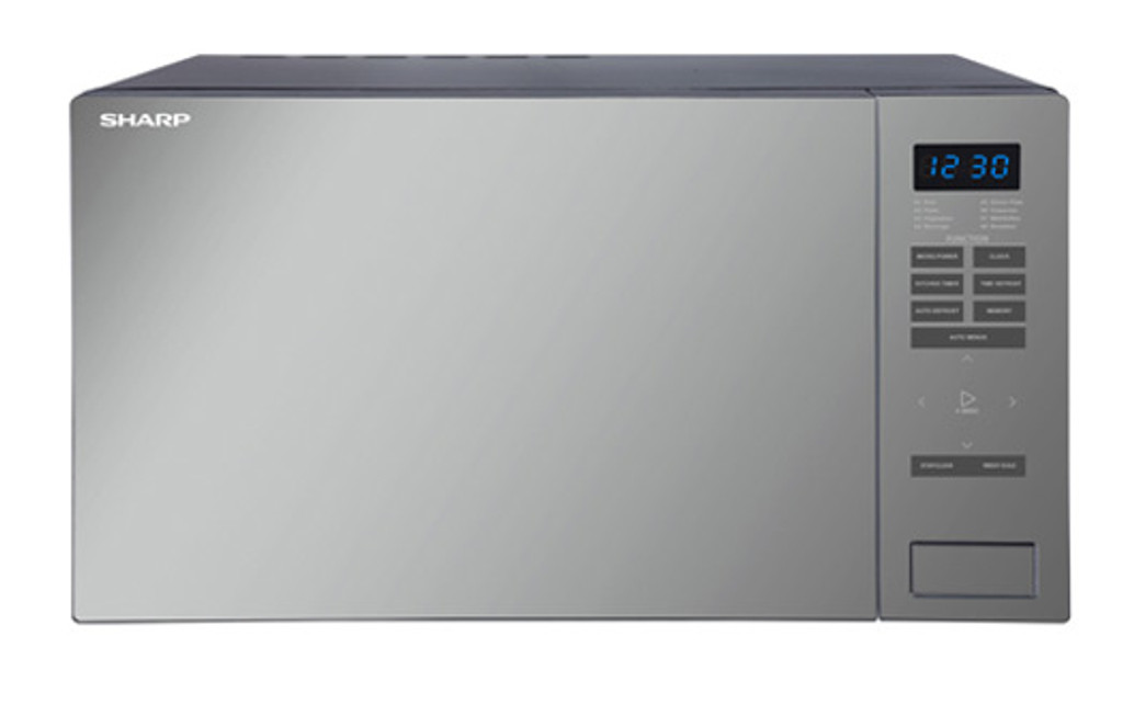 1000W MIDSIZE MICROWAVE BLACK MIRROR