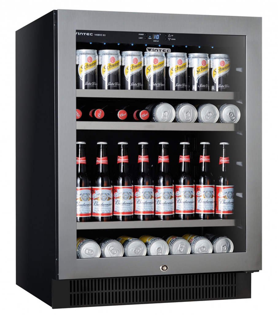 100-Bottle Wine Chiller Single temperature