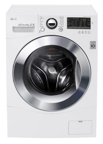 8kg Front Load Washer 14 Washing Programs