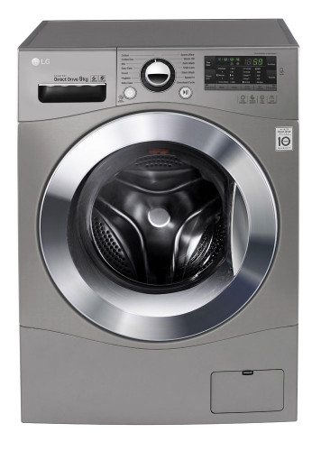 9kg Front Load Washer Stone Silver