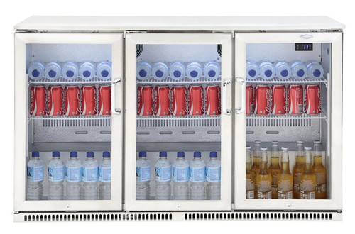 310L Triple Door Display Fridge