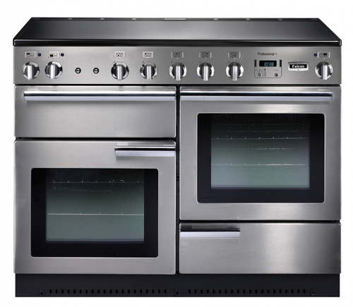 110cm Upright Cooker S/S & Chrome