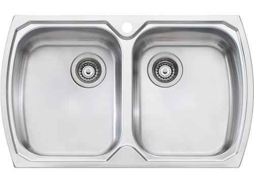 Monet Double Bowl Topmount Sink