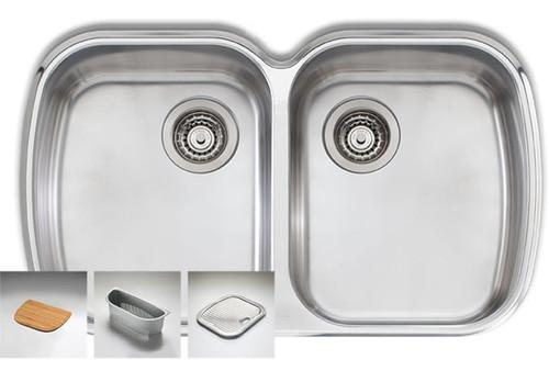Monet Double Bowl Sink