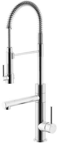 Lucia Side Lever Sink Mixer Chrome finish