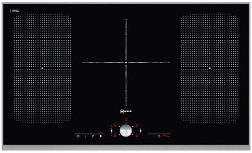 90cm Induction Cooktop LED timer for each zone