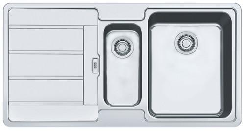Hydros 1 & 1/4 Bowl Left Hand Drainer Sink