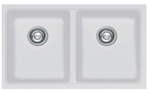 Kubus Double Bowl Undermount Sink