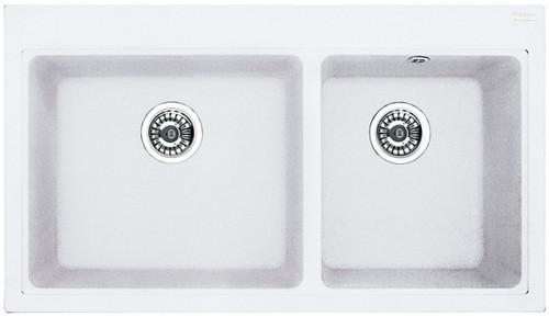 MYTHOS 1.75 SINK +ST787 CB900 P-WHITE