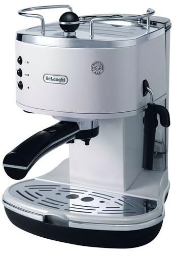 ICONA PUMP COFFEE MACH, WHITE