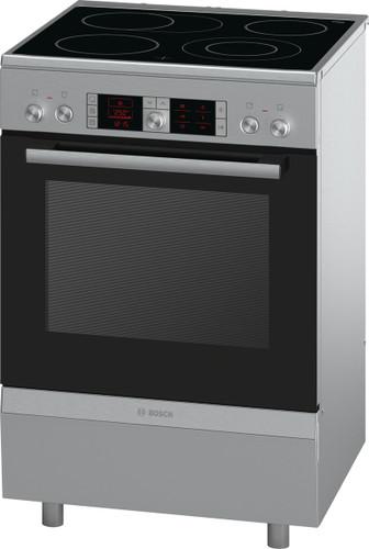 60cm Electric Freestanding Cooker 4 Quick-Therm ceramic zones