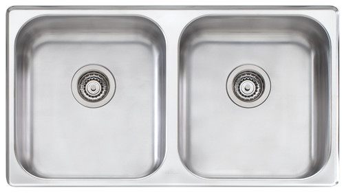 Nu-Petite Double Bowl Undermount Sink