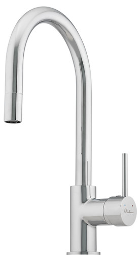 ESSENTIALS GOOSE NECK PULL-OUT MIXER
