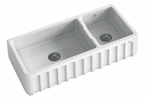 Chambord Louis 1 & 1/2 Bowl Ceramic Sink