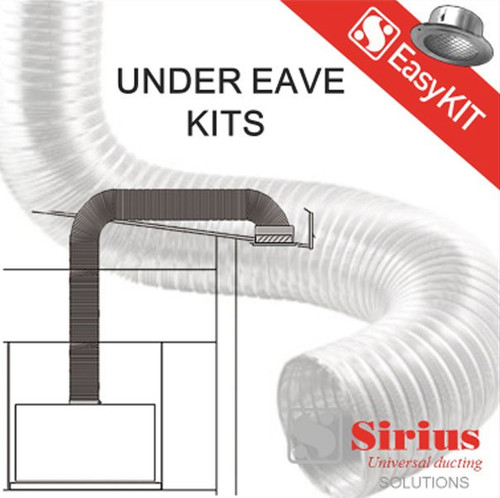 200mm Under Eave Ducting Kit