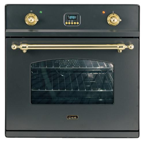 60cm Nostalgie Built in Electric Oven BLK