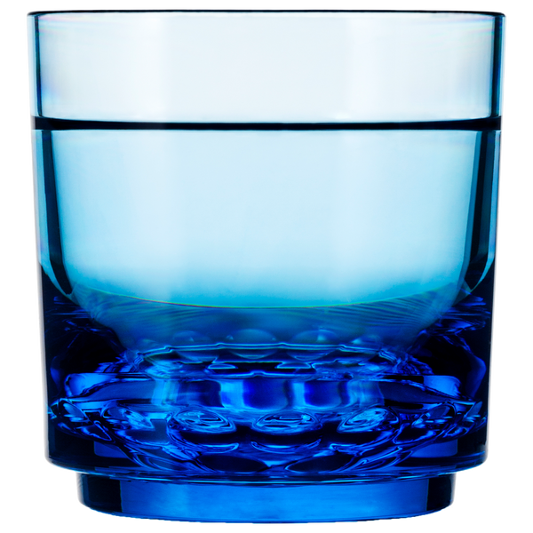 Drinique Elite Rocks Glass 10 oz in Blue